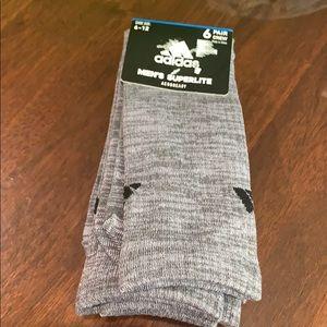 COPY - Adidas 6 pair crew men socks